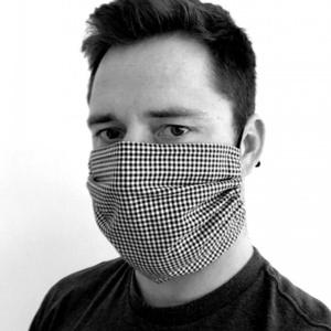 Bombaž maska KAMA z žep na filter, Kama