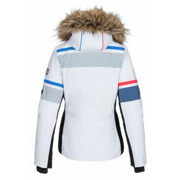 Ženske ogrevano smučarska jakna Kilpi ANIELA-W bela, Kilpi