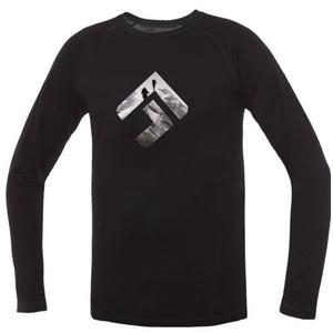 majica Direct Alpine kosmate Long črna (znamka), Direct Alpine