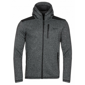 Moški pulover iz flisa Kilpi D ALB YM Črna, Kilpi