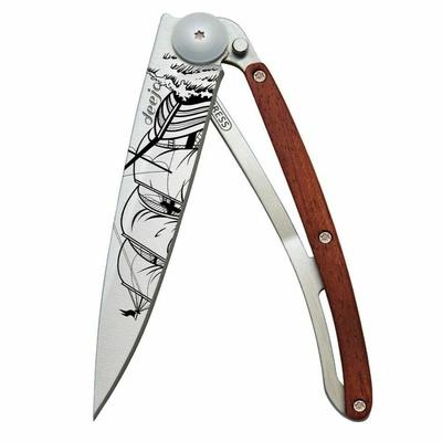Žepni nož Deejo 1CB063 Tetovaža 37g, Coralwood Corsair, Deejo