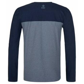 Moška majica dolg rokav Kilpi DRUMON-M temno siva, Kilpi