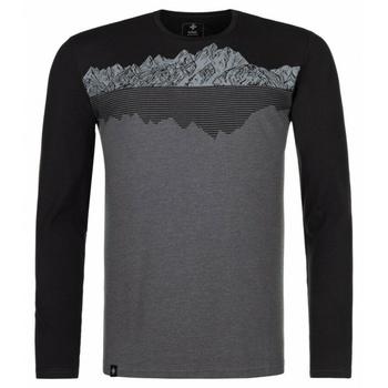 Moška majica dolg rokav Kilpi DRUMON-M temno siva