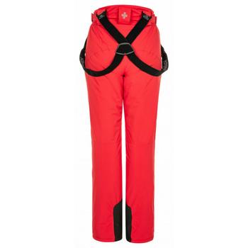 Ženske smučanje hlače Kilpi ELARE-W rdeča, Kilpi