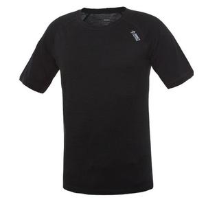 majica Direct Alpine kosmate črna (logo), Direct Alpine