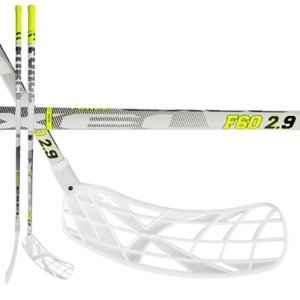 Floorball palica EXEL F60 WHITE 2.9 92 OVAL MB, Exel