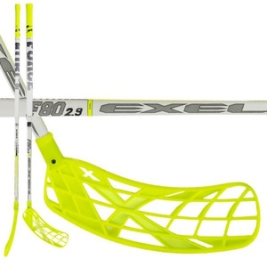 Floorball palica EXEL F80 WHITE 2.9 98 SQUARE MB L, Exel
