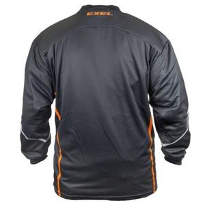 Vratar majica EXEL S100 Vratar JERSEY črna / oranžna, Exel