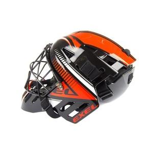 Golmanskaya čelada EXEL S100 ČELADA višji črna / oranžna, Exel