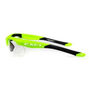 zaščita očala EXEL X100 OČI GUARD junior zelena, Exel