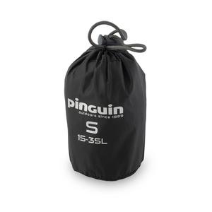 dežni plašč na nahrbtnik Pinguin raincover S 15-35l črna, Pinguin