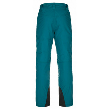 Moške smučarske hlače Kilpi GABONE-M turkizna, Kilpi