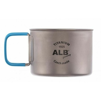 Skodelica Alb Titan Basic 0,5L 0666, ALB