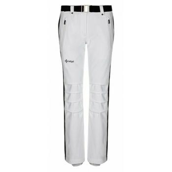 Ženske smuči hlače Kilpi HANZO-W bela, Kilpi