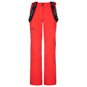 Ženske smuči hlače Kilpi HANZO-W rdeča, Kilpi