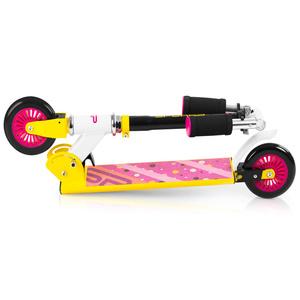 skuter Spokey DUKE kolesca 125 mm, rumeno-roza, Spokey