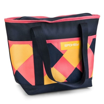 Termo torba majhna Spokey ACAPULCO roza-modro-rumena, Spokey