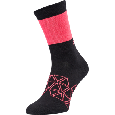 Kolesarjenje nogavice Silvini Bardiga UA1642 črno / roza, Silvini