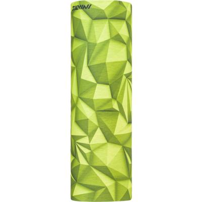 Samski plast večnamenski šal Silvini Motivo UA1730 apno / zelena, Silvini