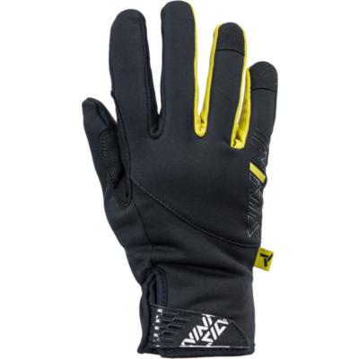 ženske rokavice Silvini Ortles WA1540 črno-rumena, Silvini