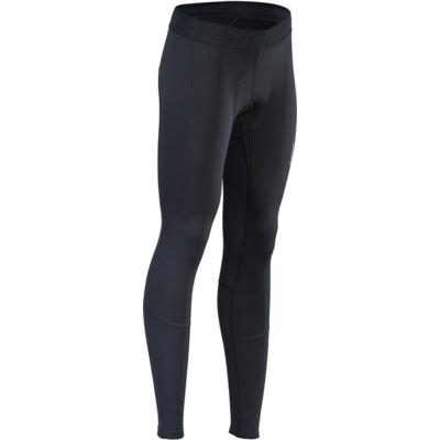 Ženska zima kolesarske hlače s kolesarjenje podloga Silvini Rapone Pad WP1732 črna, Silvini
