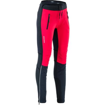 ženske touring hlače Silvini Soracte za WP1744 črno-rdeča