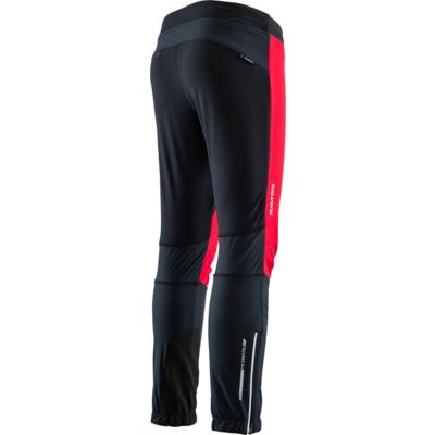 Otroci šport hlače Silvini Melito CP1329 črna rdeča, Silvini