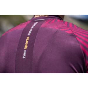 moški kolesarjenje majica Silvini Chiani MD1418 slive, Silvini