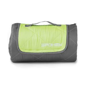 Spokey CANYON spanje torba 200x140cm, tip: odejo, siva / zelena, Spokey