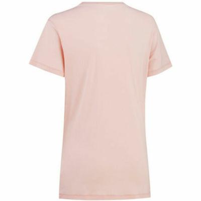 ženske eleganten majica z kratko rokav curry Traa Tvilde 622450, roza, Devold