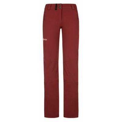 Ženske hlače za na prostem Kilpi DANNY-W temno rdeča, Kilpi