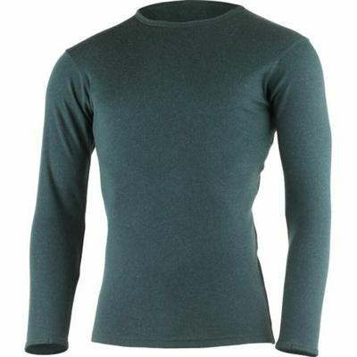 Moški merino majica Lasting BELO-5757 kerozin, Lasting