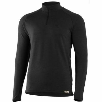 Moški majica iz merina Lasting WIRY-9099 Črna, Lasting