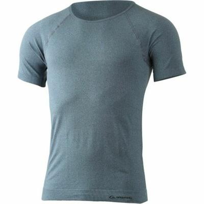 Ženske merino majica Lasting BRENA-9090 Črna kravata, Lasting