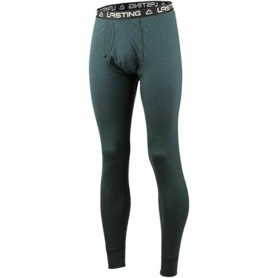 Moške dolge hlače iz merina Lasting LEXY-5757 kerozin, Lasting