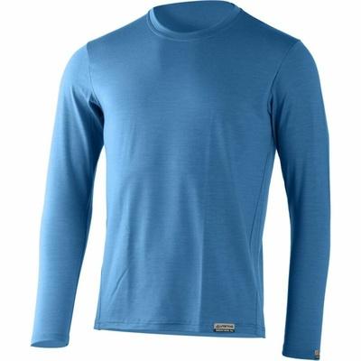 Moški merino srajca Lasting ALAN-5353 modra, Lasting
