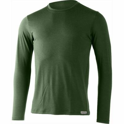 moški merino majica Lasting Alan zelena, Lasting