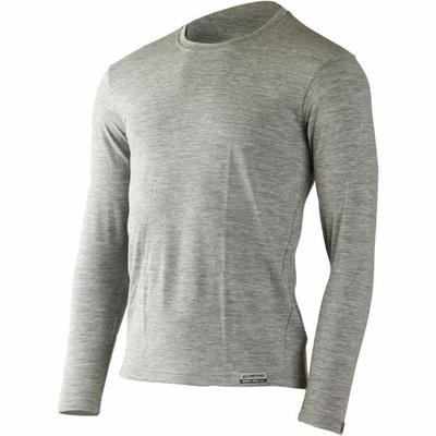 Moški merino srajca Lasting LOGAN-8484 siva, Lasting