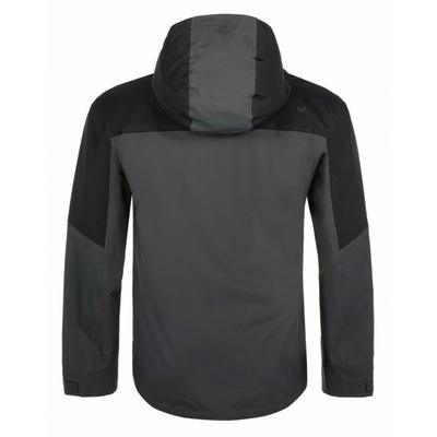 Moška zunanja tekma jakna Kilpi LEXAY-M temno siva, Kilpi
