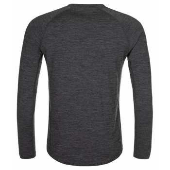 Moški funkcionalni dolga majica rokav Kilpi MAVORA TOP-M temno siva, Kilpi
