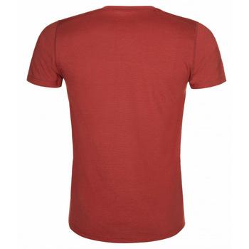 Moški funkcionalni srajca Kilpi MERIN-M temno rdeča, Kilpi