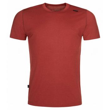Moški funkcionalni srajca Kilpi MERIN-M temno rdeča