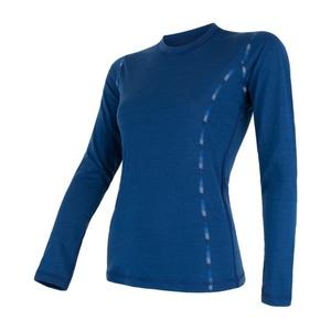 ženske majica Sensor MERINO AIR temno blue 17200014, Sensor
