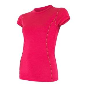 ženske majica Sensor MERINO AIR magenta 17200011, Sensor