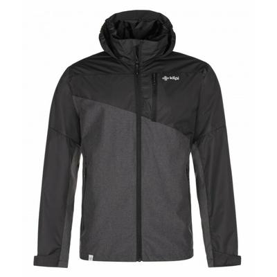 Moški funkcionalni zunanja jakna Kilpi ORLETI-M temno siva, Kilpi