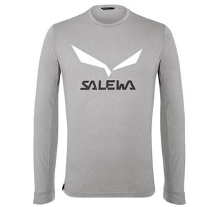 majica Salewa SOLIDLOGO DRY M L / S TEE 27340-0624