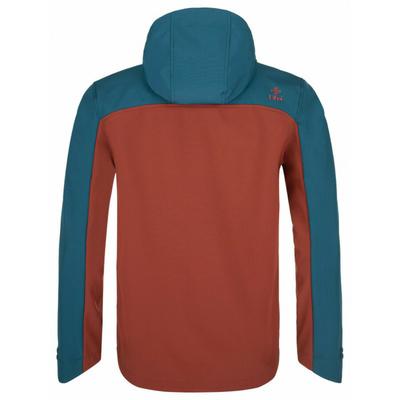 Moška softshell jakna Kilpi RAVIO-M temno rdeča, Kilpi