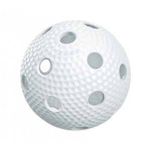 floorball balon Salming Aero plus Ball bela, Salming