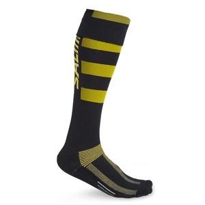 nogavice SALMING CoolFeel Teamsock Long Black / Yellow, Salming