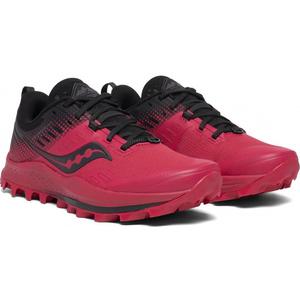 moški tek na smučeh čevlji Saucony Peregrine 10 Rdeča / Črna, Saucony